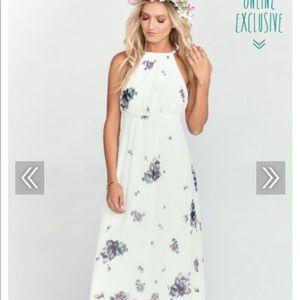 Show me your mumu maxi dress - NWT